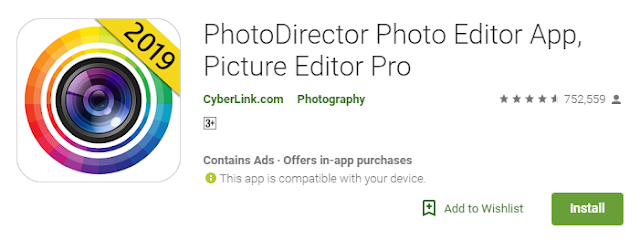 Photo-Director pro editor