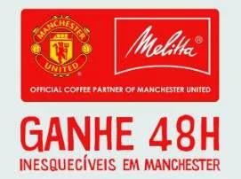Cadastrar Promoção Melitta Manchester United 2019 - Viagem Conhecer Time