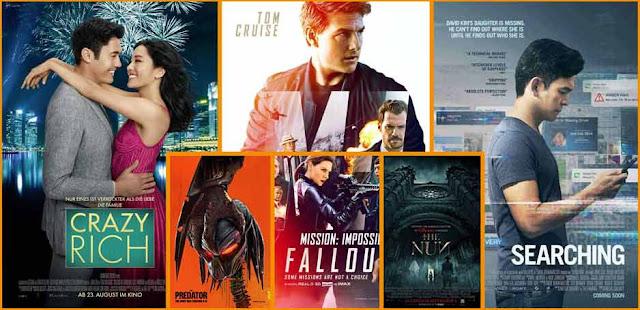 الإصدارات العالية الجودة HD في شهر نوفمبر 2018 November