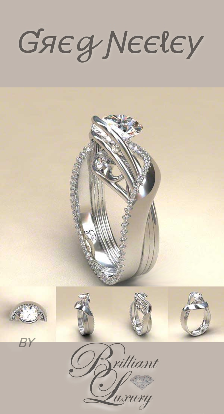 Brilliant Luxury ♦ Greg Neeley White Austin 1 Ring