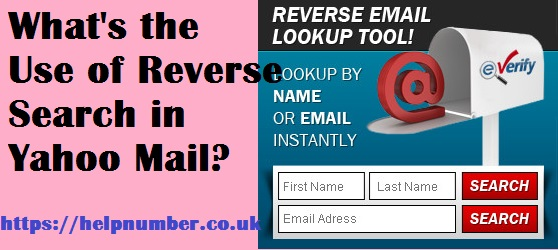 Reverse Search in Yahoo Mail