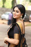 Poorna in Cute Backless Choli Saree Stunning Beauty at Avantika Movie platinum Disc Function ~  Exclusive 015.JPG