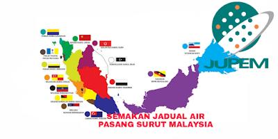 Semakan Jadual Air Pasang Surut 2018 Malaysia