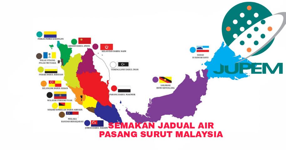 Semakan Jadual Air Pasang Surut 2020 Malaysia My Panduan