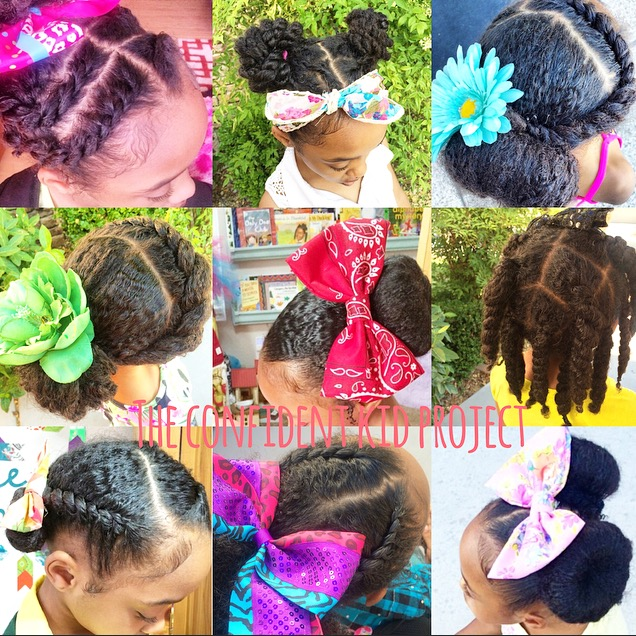 Incredible The Confident Kid Project Summer Protective Styling Short Hairstyles Gunalazisus