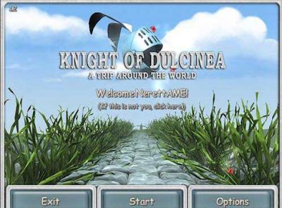 冒險騎士(Knight of Dulcinea),滑鼠控制的動作冒險過關遊戲!