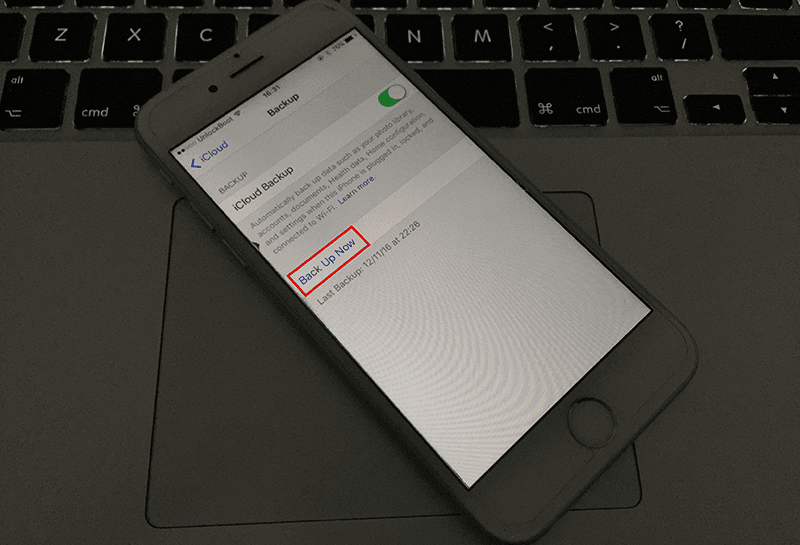 How to restore without losing data iphone