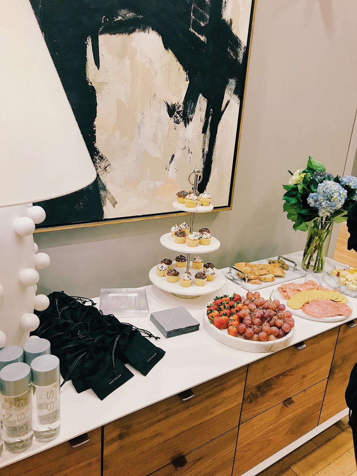 Ann Taylor networking event for bossbabes, professional working women in New York City networking