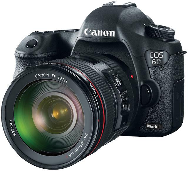 كاميرا كانون 6d Mark II