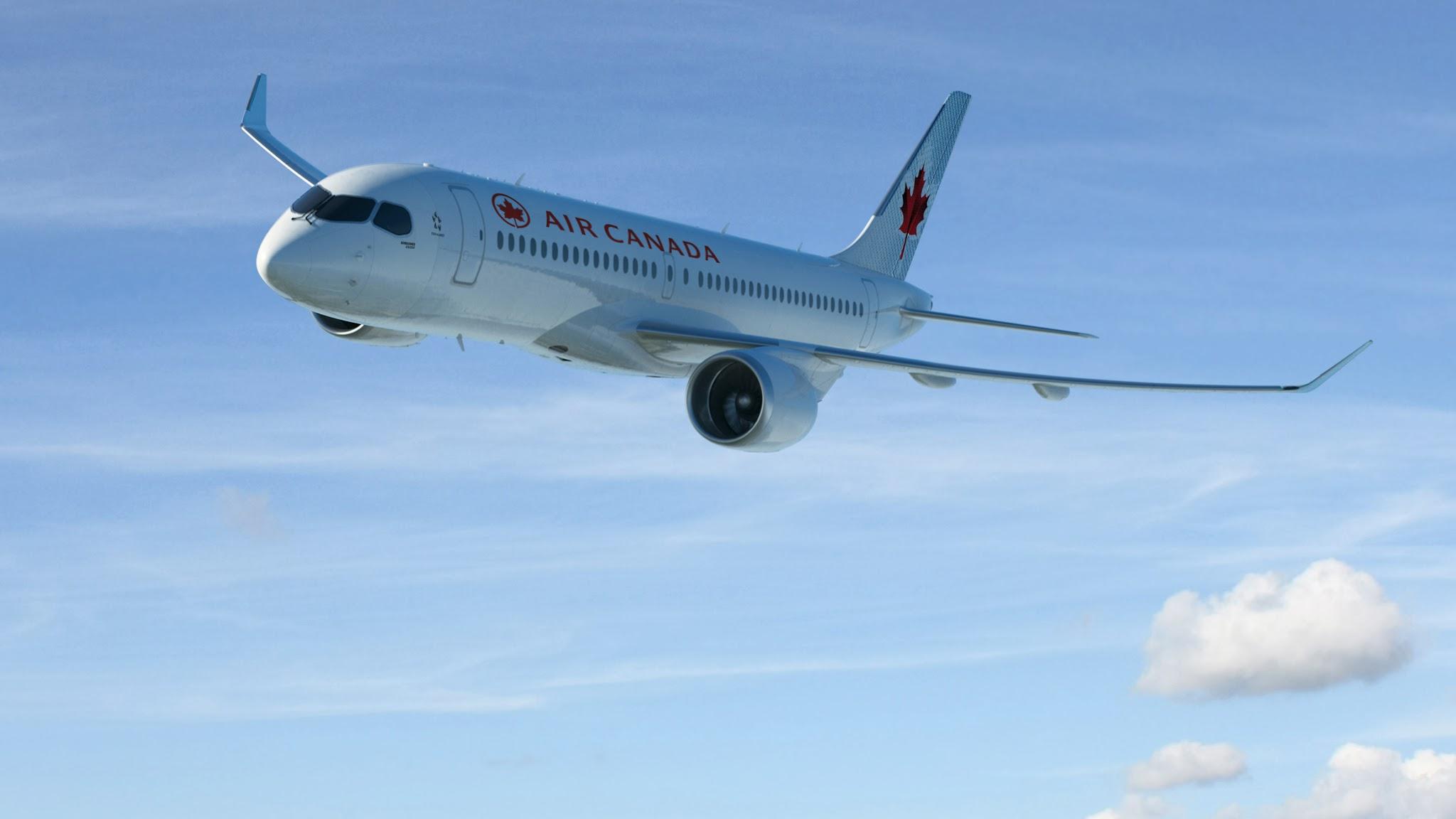 Air Canada encomenda 75 Bombardier C Series