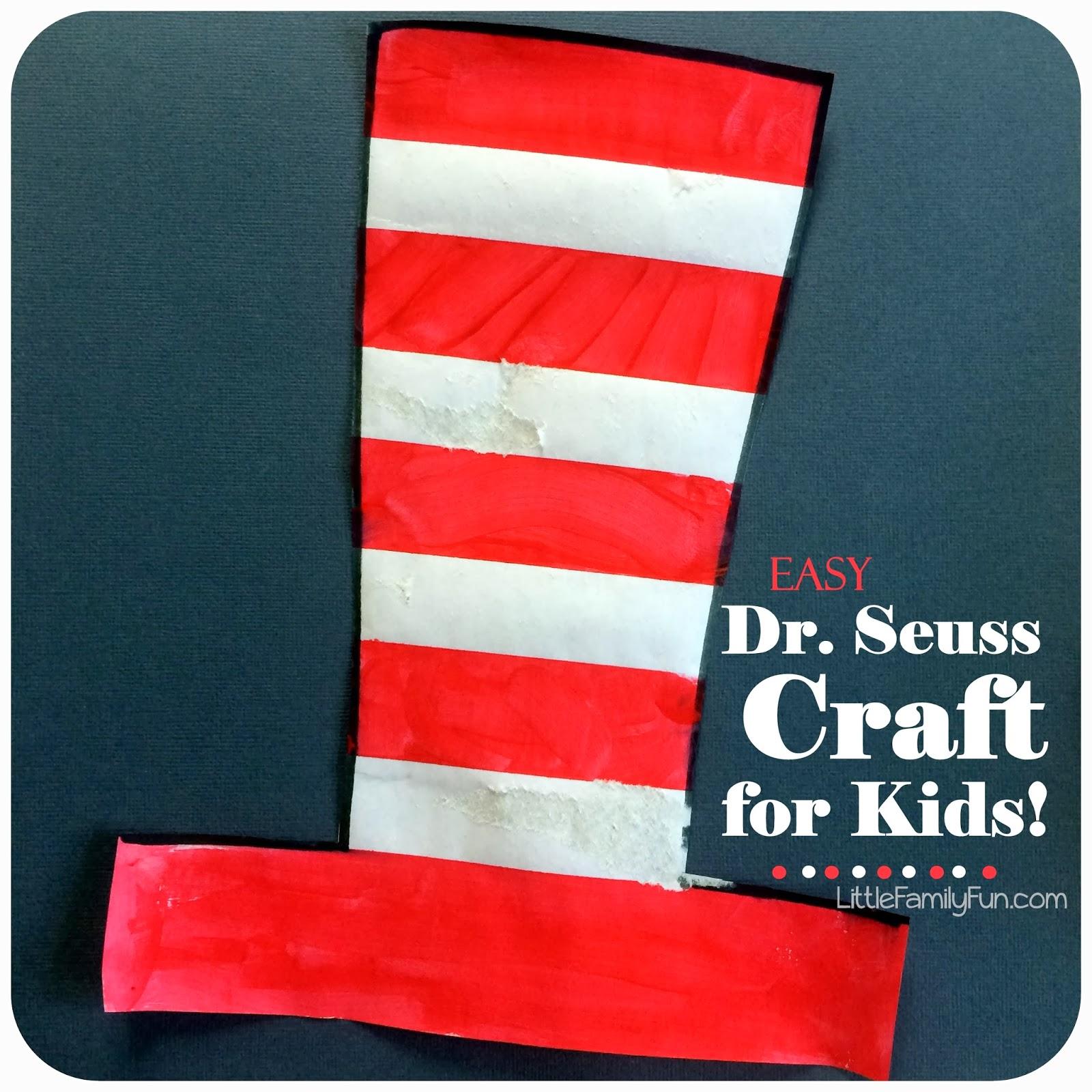 Easy Dr Seuss Craft