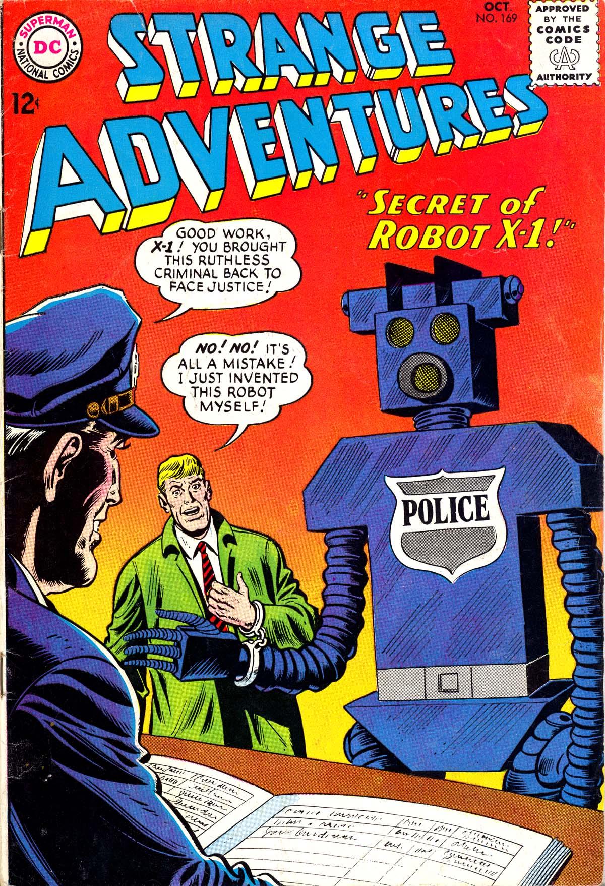 Strange Adventures (1950) issue 169 - Page 1