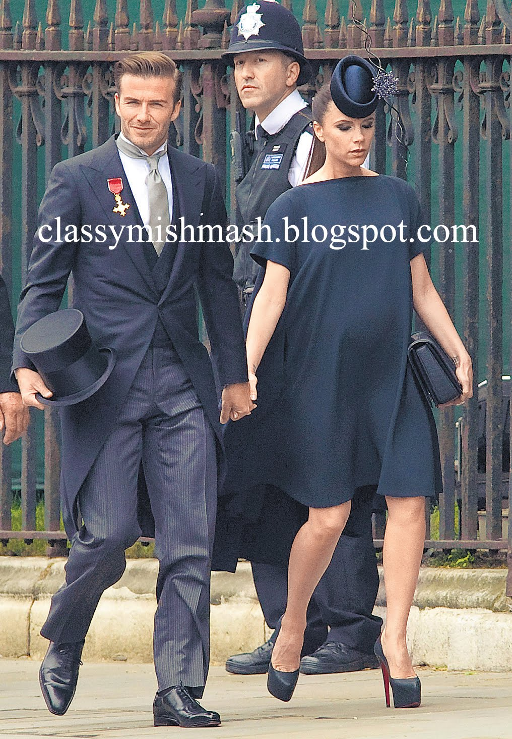 Pictures Of Victoria David Beckham At The Royal Wedding Prince William With Kate Middleton