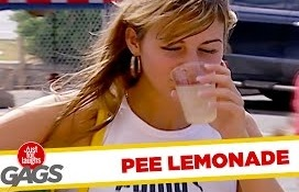 Funny Video – Spicy Pee Lemonade & Bird Shit Pranks