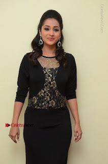 Telugu Actress Manasa Manohar Stills in Black Long Dress at Naku Nene Thopu Turumu Trailer Launch  0036.JPG