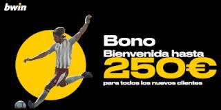 bwin.es Apuestas Deportivas Bono Bienvenida de hasta 250€