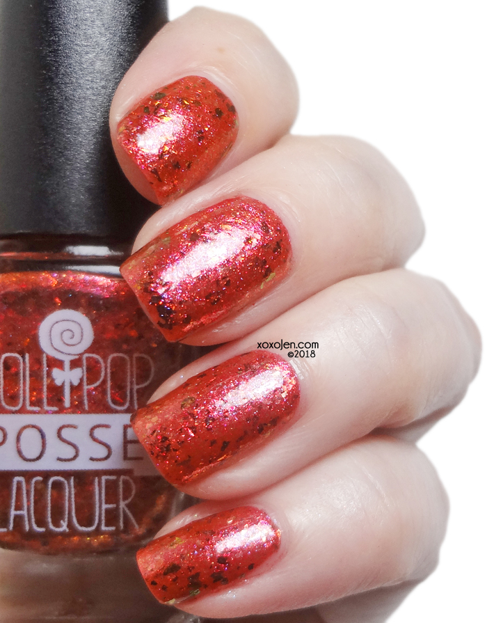 xoxoJen's swatch of Lollipop Posse: The Music of My Name