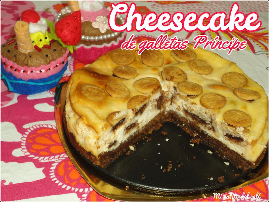 Cheesecake de galletas Príncipe