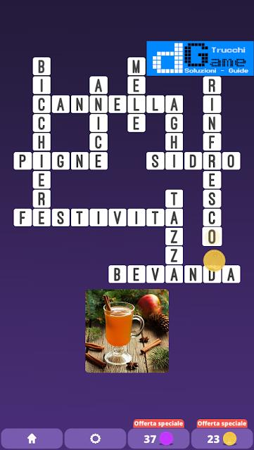 Soluzioni One Clue Crossword livello 18 schemi intermedia  (Cruciverba illustrato)  | Parole e foto