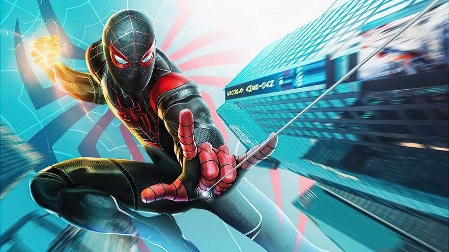 Spider-Man, Miles Morales, 4K, #6.2135