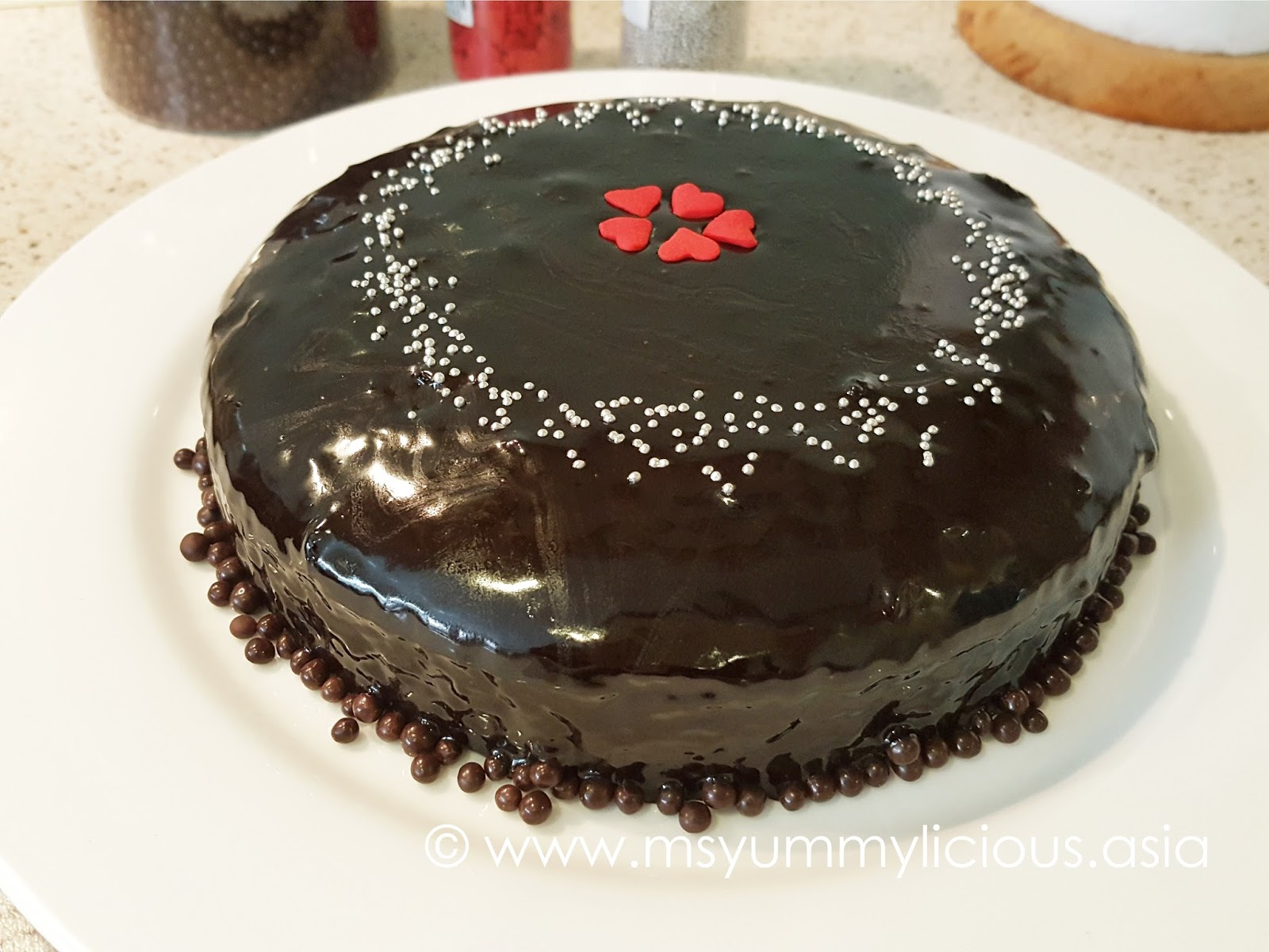 Steamed Moist Chocolate Cake For Our Prince Charmings 1st Birthday