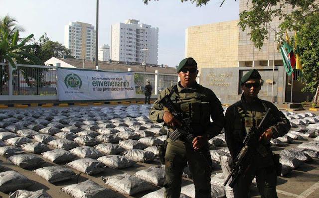 """""""Complican"""" a narcos mexicanos abasto de cocaína"""