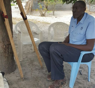 Doctors In Tanzania Say This Man Is Too Tall For Surgery (Photos)