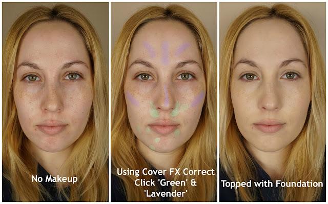 lavender green correct click custom cover drops p20