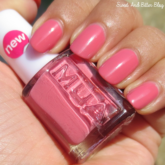 MUA Ameretto Crush Nail Polish Swatch