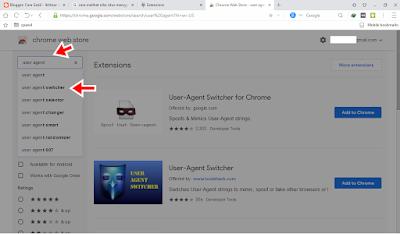 Tampilan Browser Pc/Laptop Jadi Android