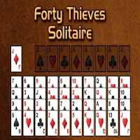 Card Game-Forty Thieves Solitaire