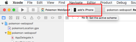 SpooferTricks com: Webspoof-app for Xcode in OSX 10 13 4