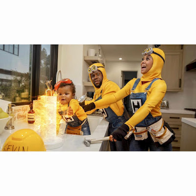 Photos Kevin Hart Wife and kids dress up as Minions for #Halloween