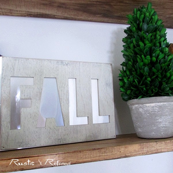 Entryway 2017 Fall decor