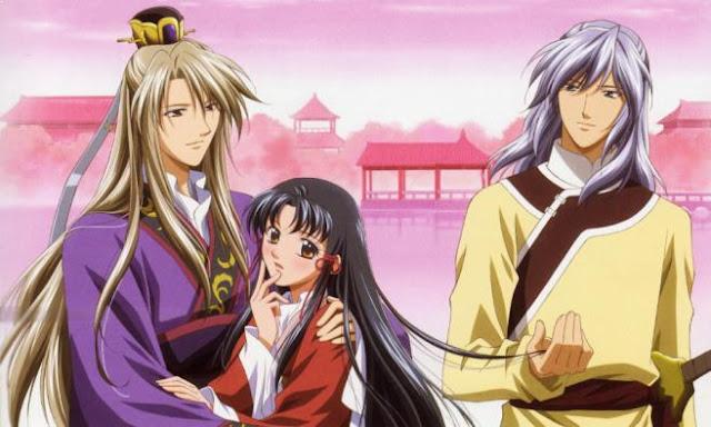 Anime Drama Romance Terbaik - Saiunkoku Monogatari