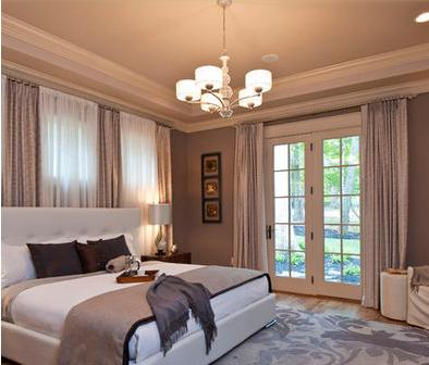 Decorar habitaciones cortinas dormitorios matrimonio - Cortinas de habitacion ...