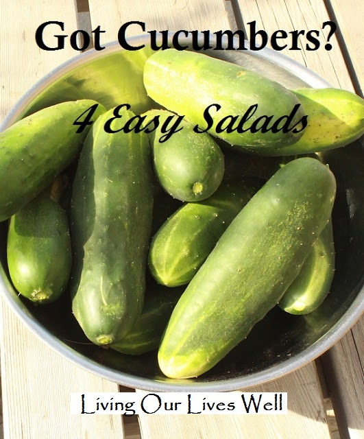 4 Easy and Delicious Cucumber Salads