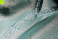 Nähte: MODETREND Damen Kleider mit Bogen 1/2-Arm Etui Elastisch Tulpenkleid Wort Schulter Partykleider Bleistiftrock Abendkleid Casualkleider