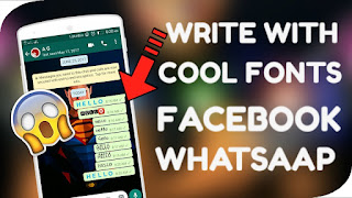 whatsapp diffrent writing style how to write
