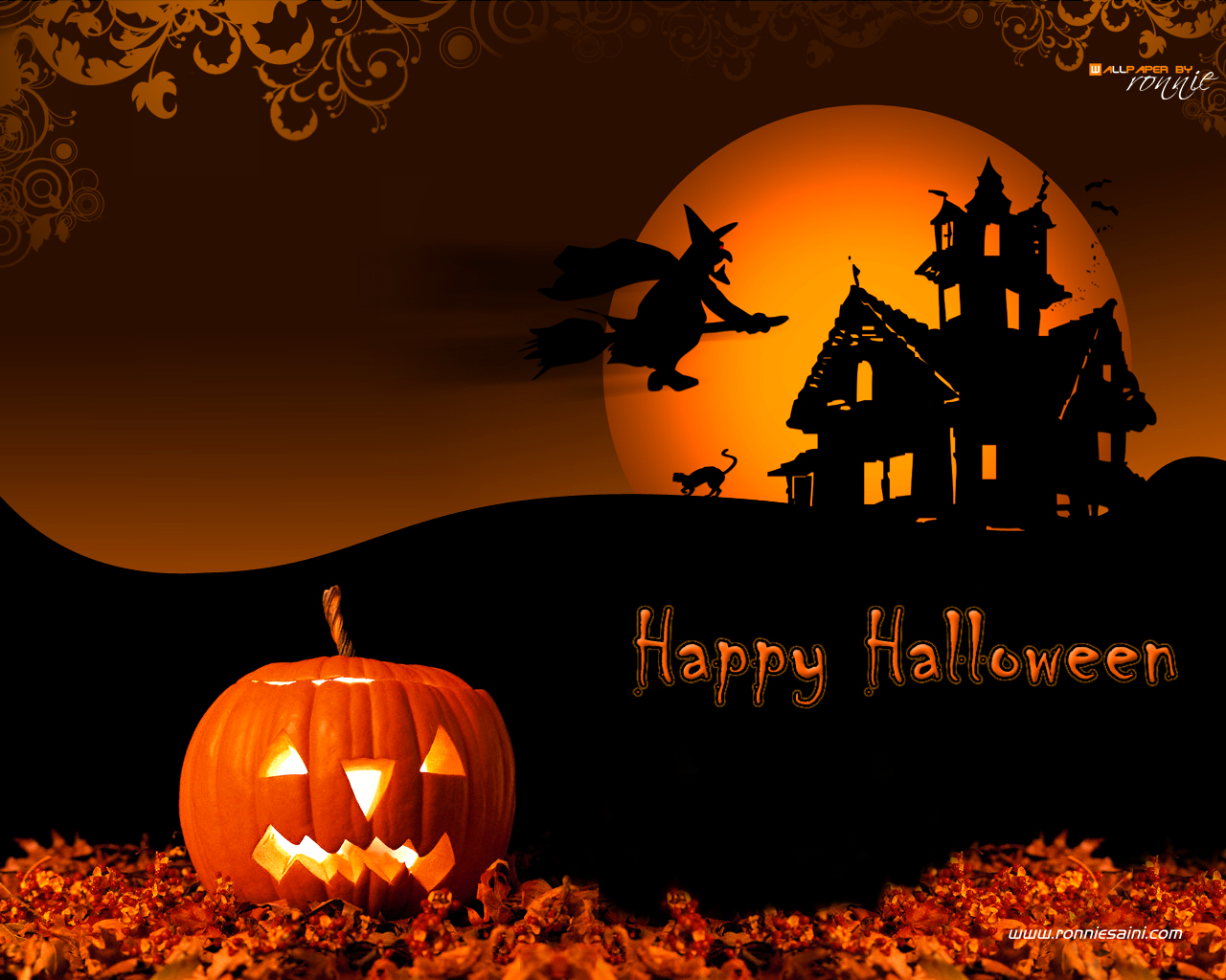 Hd Wallpapers Hd Backgrounds: Wallpapers HD: Halloween Wallpapers