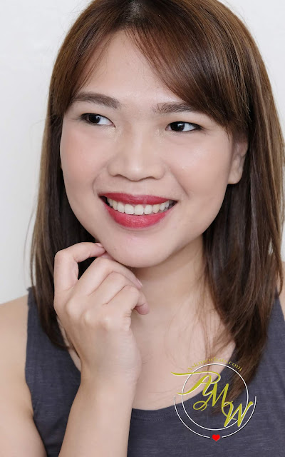 a photo of BLK All-day intense Matte Lipsticks in Chic, Elegant and Brave review by Nikki Tiu of www.askmewhats.com