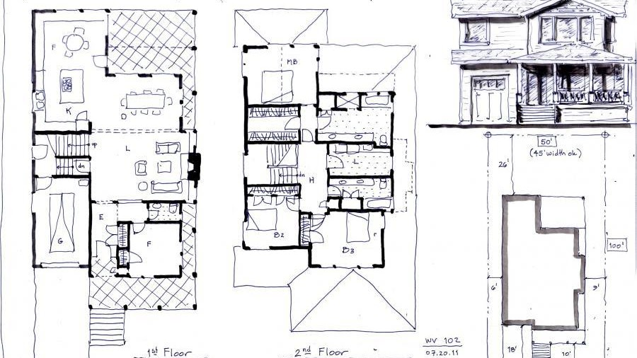 Bill Gates's House - House Plans 2500 Square Feet