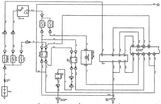 Toyota 2kd ecu wiring diagram
