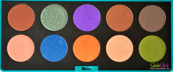 Delight Eyeshadow Palette by Neve Cosmetics