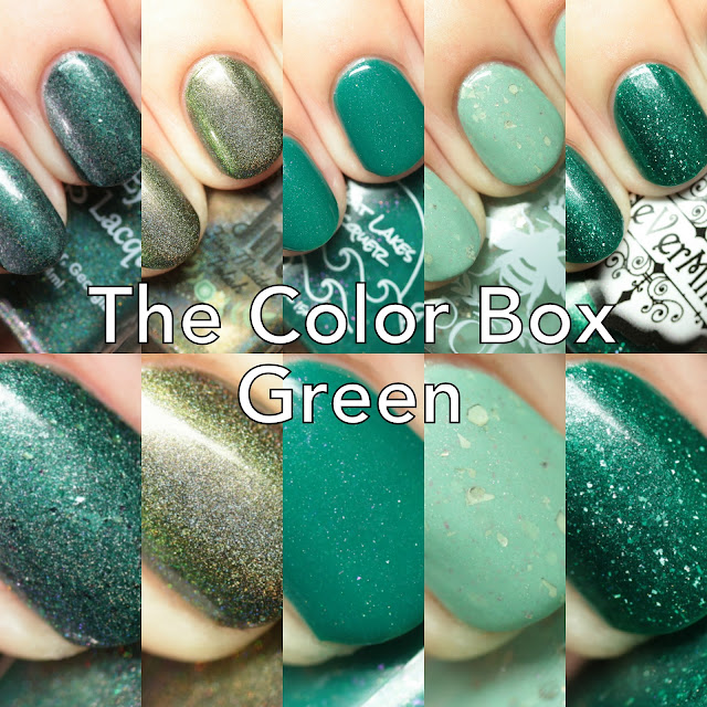 The Color Box: Green