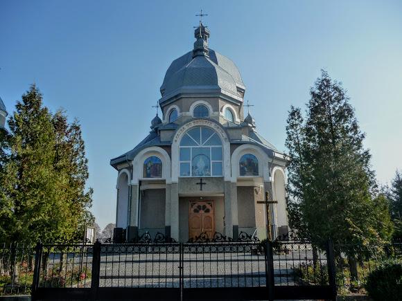 Стрілків. Нова церква