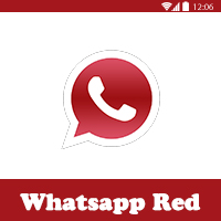 تحميل واتس اب بلس الاحمر 2018 الجديد اخر اصدار Whatsapp Plus Red 2018 رابط مباشر احمر ميديا فاير