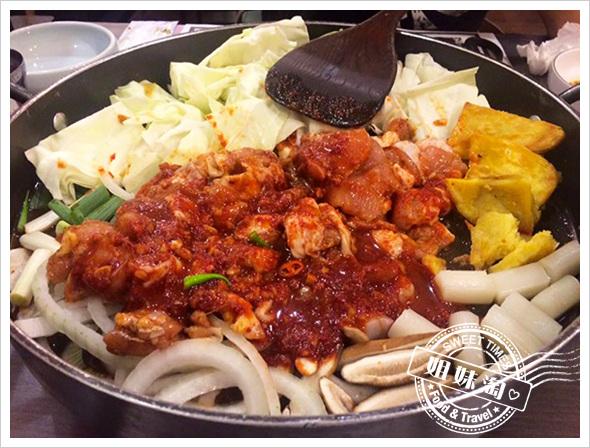 韓屋里韓式料理-五花烤肉最迷人