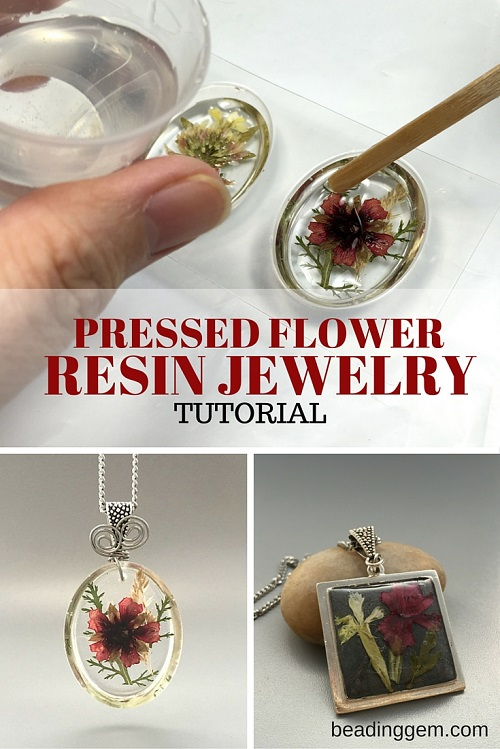 how to make pressed flower resin jewelry part 1 the