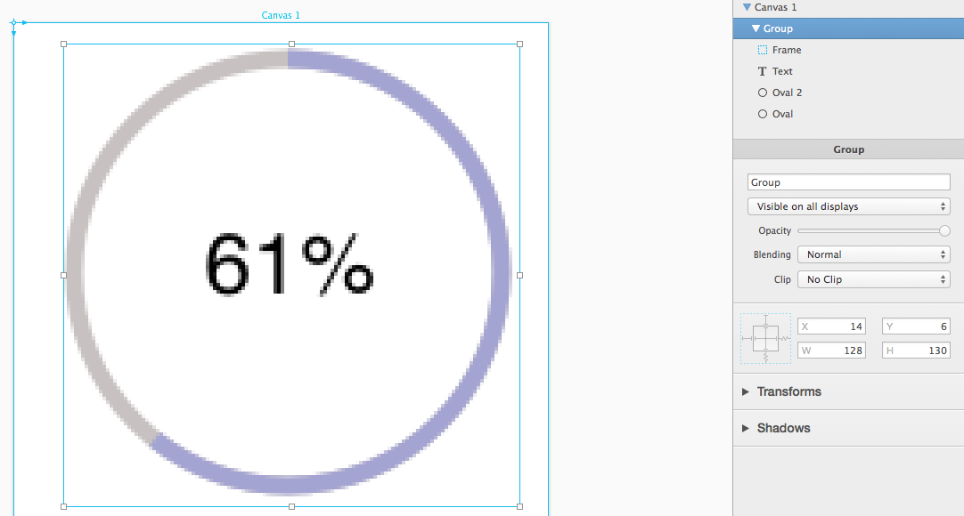 My IOS Coding Tips: Circular Progress Bar With PainCode